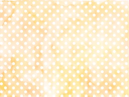 Watercolor dot 2 Orange