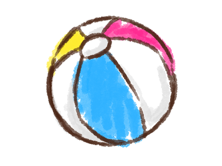 Crayon Series [Beach Ball]
