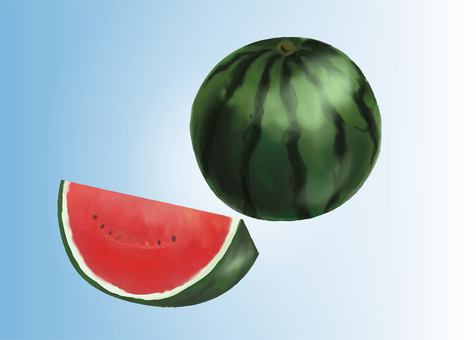 Real watermelon