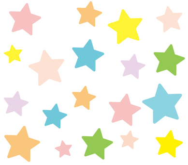 Star _ Background colorful 3