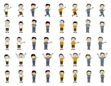 People series Arasa Men (plain clothes)