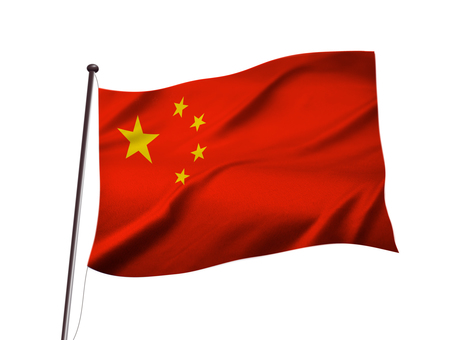 Chinese flag image of China