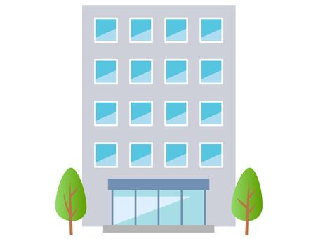 51111. 중층 빌딩