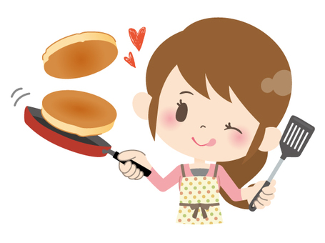 Housewife A * Cooking_ Hot Cake