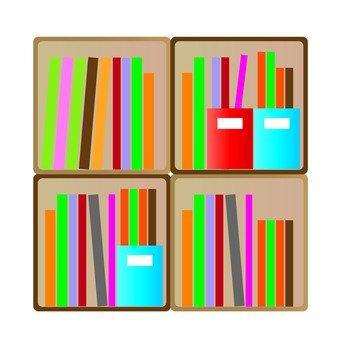 Rounded bookshelf 2