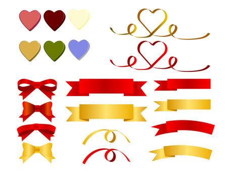Ribbon and Heart