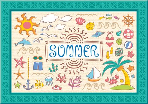 トロピカルな 夏セット