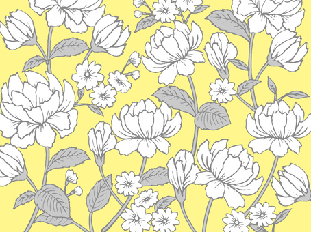 Roses Floral Pattern Texture Yellow