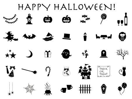 Happy Halloween _ material set
