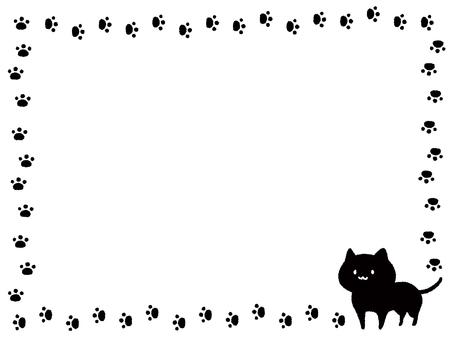 Cat decorative frame 2