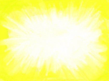 Shining golden frame