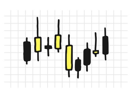 股票圖表_黑色