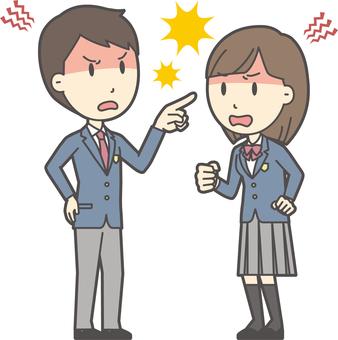 高校生男女セット-024-全身