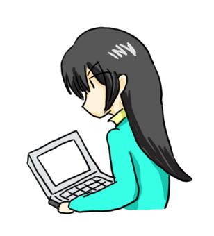 PC와 소녀