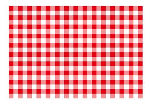 Check pattern red