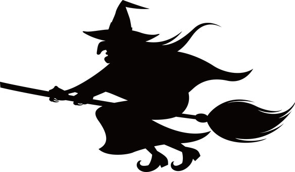 Halloween Silhouette Witch