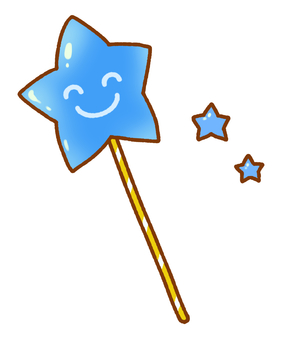 Smiling Star (Blue)