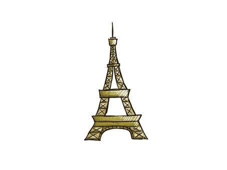 Eiffel Tower (simple)