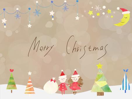 Christmas frame ver 27