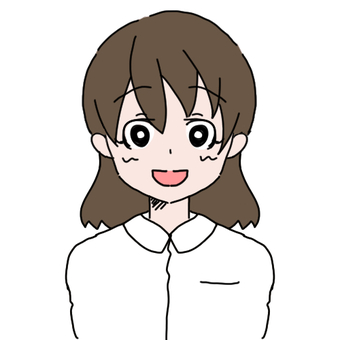 Women with white clothes (smile)