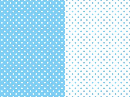 Polka dot pattern light blue