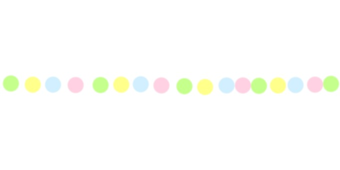 Colorful dot