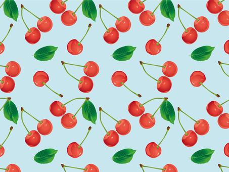 Cherry pattern 02