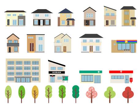 Townscape set ①