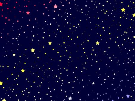 Simple night sky -5