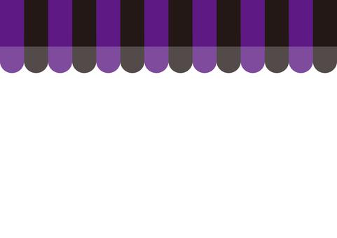 Shop tent (purple × black)