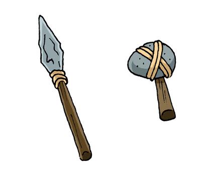 Stone Ono and Stone Yari