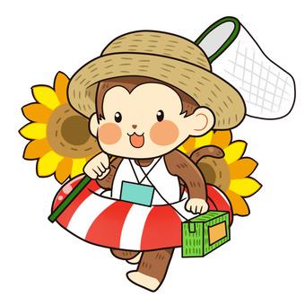 【Summer】 Monkey (summer vacation)