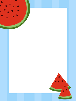 Watermelon Postcard 02