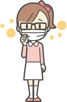 Girl pink long sleeve-159-whole body