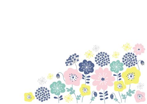 유럽풍 꽃