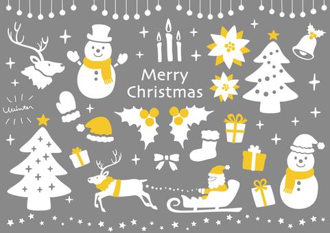メリークリスマス【シンプル】