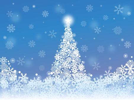 豪華な冬の景色2