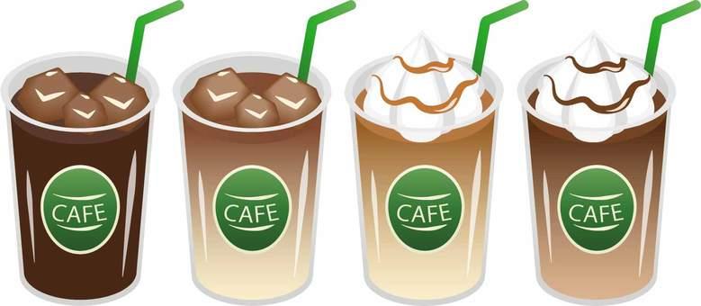 아이스 카페 음료