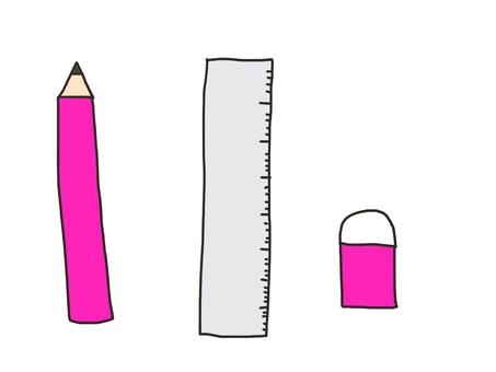 Stationery Pink