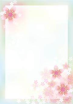Cherry Blossoms & Board 1