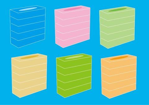 Box tissue set