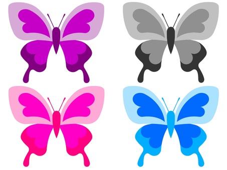 간단한 나비