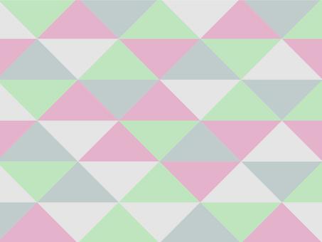 Texture triangular mosaic modern light