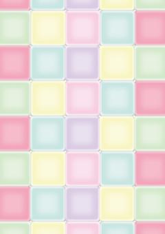 Pastel color tile background