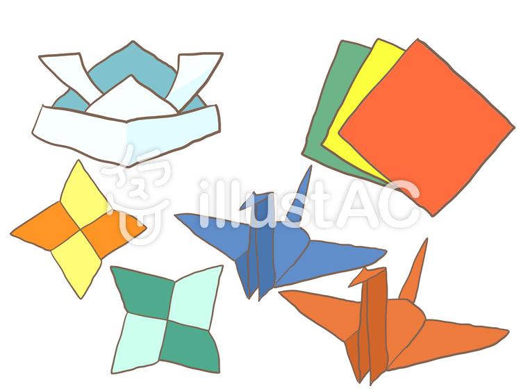 折り紙のイラストイラスト No 620227無料イラストならイラストac