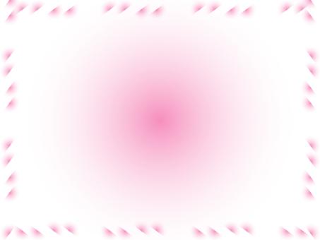 반원 배경 (핑크)
