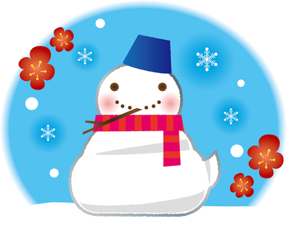 The snowman of Mi