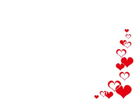 Heart decorative frame 8
