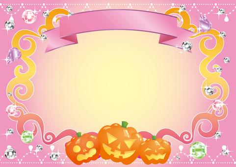Halloween jewelry frame 2