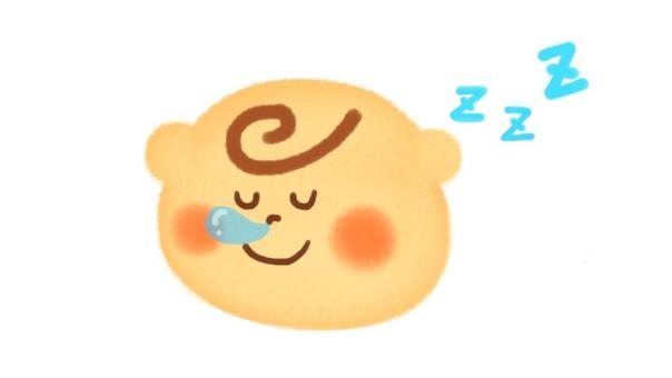 A nap baby